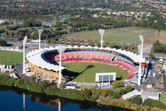 2018 Commonwealth Games, Gold Coast, Australia. Metricon Stadium, Gold Coast, Queensland Australia.  Home of the Gold Coast Suns AFL team.  It is also venue for Stock Image