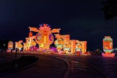 2018 Spring Festival Lantern giant Royalty Free Stock Photo