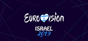 Free 2019 Abstract Eurovision Song Contest International Music Festival Fireworks Israel Stock Photography - 140835322