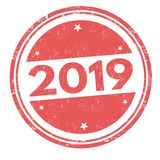 2019 Sign Or Stamp Royalty Free Stock Image