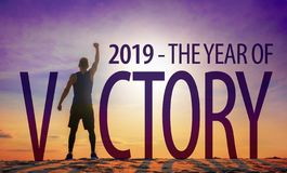 Free 2019 - The Year Of Victory Stock Photos - 133346163
