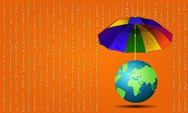 Free `2019` Umbrella For The Earth Stock Images - 127456004