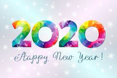Free 2020 A Happy New Year Greetings Royalty Free Stock Images - 159937759