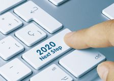 Free 2020 Next Step - Inscription On White Keyboard Key Royalty Free Stock Photography - 163766387