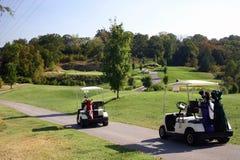 任何人打高尔夫球 库存照片