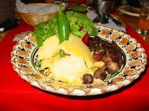传统的食物 免版税库存图片