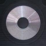 低音扬声器 库存图片