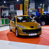 207 rodzinnych lągu hdi mph Peugeot xs obraz royalty free