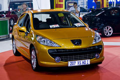 207 xs de M/H Peugeot de hdi d'écoutille de famille Photographie stock