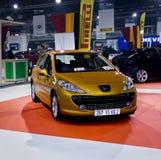207 xs de M/H Peugeot de hdi d'écoutille de famille Image libre de droits