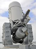 20mm接近的cwis海军系统武器 库存图片