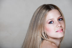 20s beautiful blond woman Στοκ Φωτογραφία