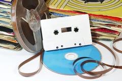 20th Århundrademusikmedel arkivbild