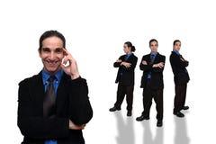21企业小组 库存图片
