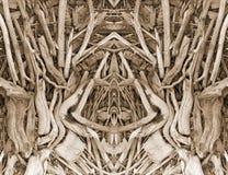 21抽象纹理木头 免版税库存照片