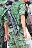 21攻击步枪sar 库存图片