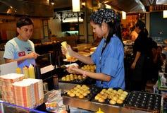 21曼谷食物大厅终端泰国 库存照片