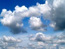 21朵云彩天空 库存图片