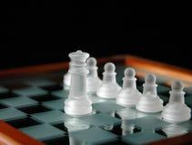 21 κομμάτια σκακιού Στοκ Εικόνα