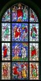 21 стекло запятнало окно Стоковые Фото