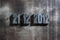 21 12月2012日最后的审判日 库存照片