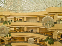 21 2011年afi 4月购物中心莫斯科俄国 库存照片