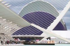 21.2012: Cidade das artes e das ciências Foto de Stock