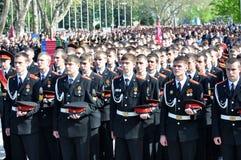 21 2012 Kwiecień cossack parady modlitwa Obrazy Royalty Free