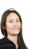21 asiatiska attraktiva flickabarn Arkivfoton