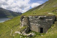 21 b3 bateryjnego centre ogienia hospicjuma forteca w Zdjęcia Royalty Free