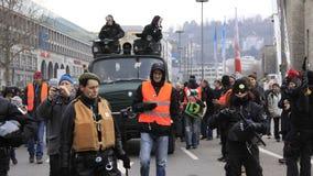 21 demonstracja Stuttgart Obraz Royalty Free