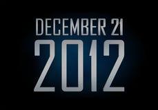 21 dicembre 2012 illustrazione di stock
