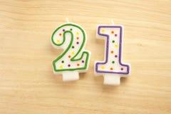 21 felici Immagini Stock