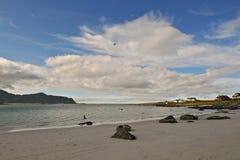 21 norr norway Arkivfoto