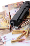 21 przestępstwa pistolet Obraz Royalty Free