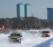 21. traditionelle Rennen-Sterne in Moskau Lizenzfreie Stockfotos