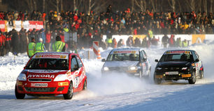 21. traditionelles Rennen Stars Za rulyom Stockfotos