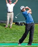 21 year-old rookie star Rickie Fowler Stock Images