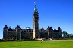 加拿大议会s 免版税图库摄影