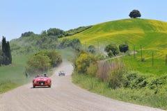 212 1000 1951 eksportowy Ferrari miglia Zdjęcia Royalty Free