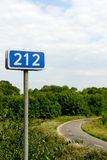 212 km Royalty Free Stock Images