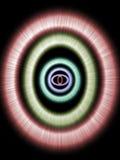 发光的环形 库存例证