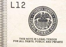 合法的货币印花税招标 免版税图库摄影