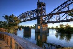 21st столетие моста к стоковые фотографии rf