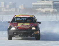 21st traditional Race Stars Za rulyom in Moscow Stock Image