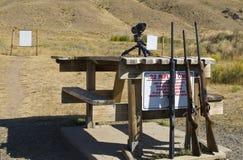 22个范围步枪 免版税库存照片