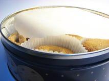 22个配件箱曲奇饼 库存图片
