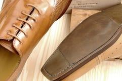 22双豪华鞋子 库存图片