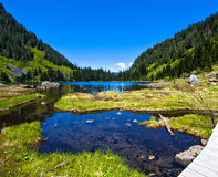 22美丽的湖 库存图片