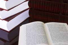 22 книги законной стоковое фото